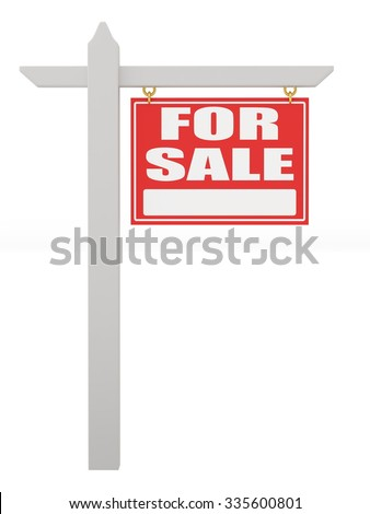 For sale sign - stock photo