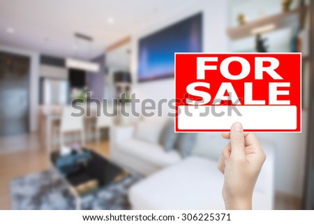 for sale sign house