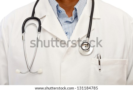 For the health wellbeing go to consult your doctor - stock photo