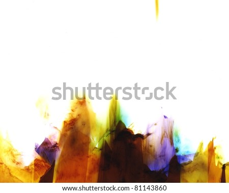 For use as a background, backdrop, flyers or web pages. This is a real scan of an abstract photographic print that was created by an artist. It is a series of 10 called AURA prints available here - #2 - stock photo