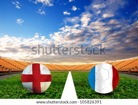Forecast European Championship the  European cup four team last Competition between France vs England