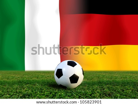 Forecast  Semi  Final the  European cup four team last Competition between German vs Italy