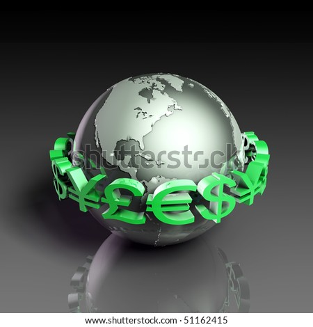 Foreign Currency Exchange Stock Market as Concept - stock photo