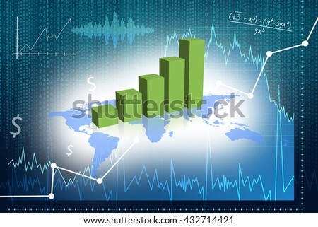 Foreign exchange market. Elements of this image furnished by NASA.