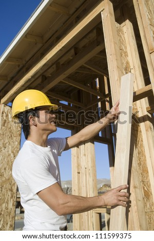 Foreman at construction site