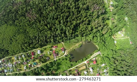 Plesenskoe stock photos royalty free images vectors for Design of settlement ponds