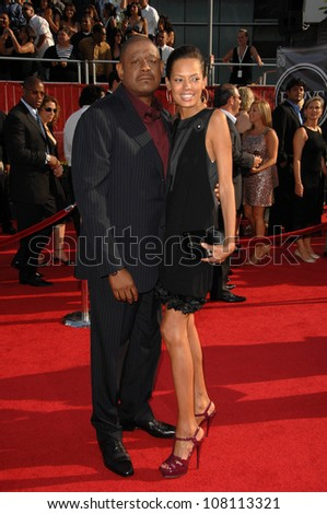 Forest Whitaker and Keisha Whitaker  at the 2008 ESPY Awards. Nokia Theatre, Los Angeles, CA. 07-16-08