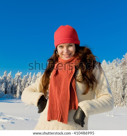 Forever Winter Fun!  - stock photo