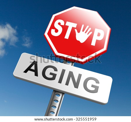 forever young stay same age feel younger than you are not old stop aging  - stock photo