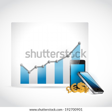 forex business technology concept illustration design over a white background