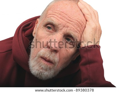 Forgetfulness - stock photo