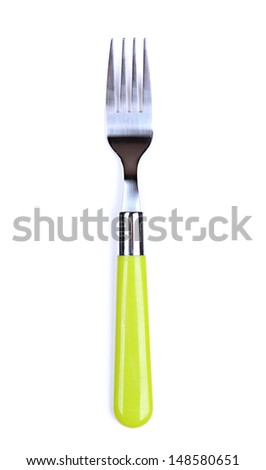 Fork, isolated on white