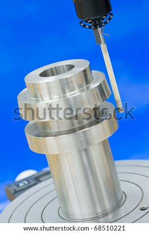 Form measuring instrument - stock photo