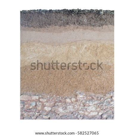 Earth layers stock images royalty free images vectors for Earth soil layers