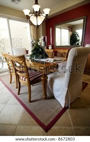 Formal Dining Room - stock photo