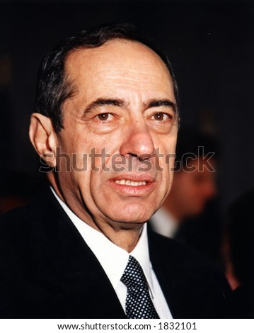 Former NYS Governor Mario Cuomo - stock photo