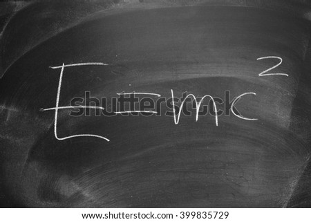 formula / education blackboard background