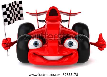Formula one - stock photo
