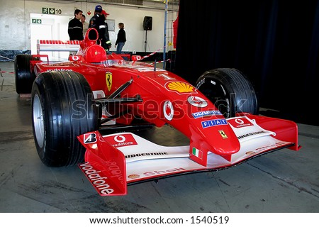 Formula one ferrari - stock photo