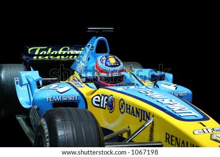 Formula 1. Renault. - stock photo