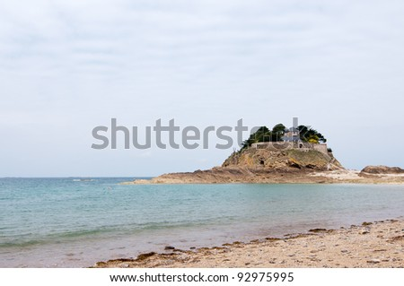 Fort Du Guesclin in Brittany, France - stock photo