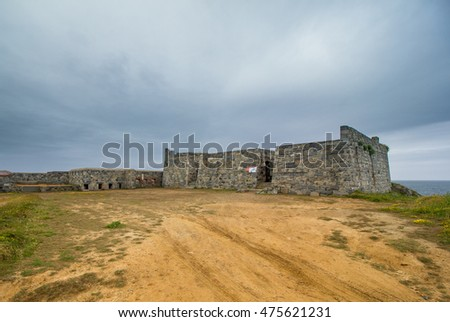 Fort La Marchant, Guernsey. There has been a fort of some description on this site since 1680.
