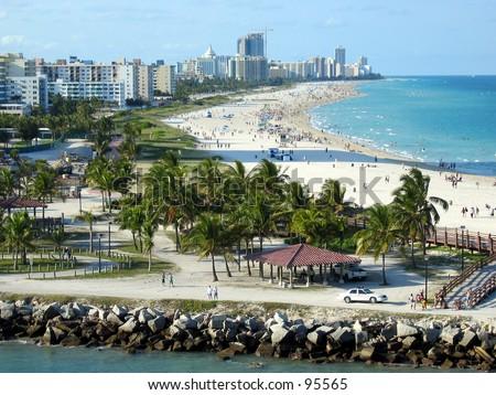 Fort Lauderdale Beach - stock photo