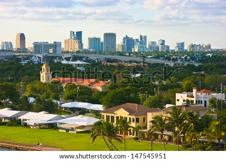 Fort Lauderdale, Florida - stock photo