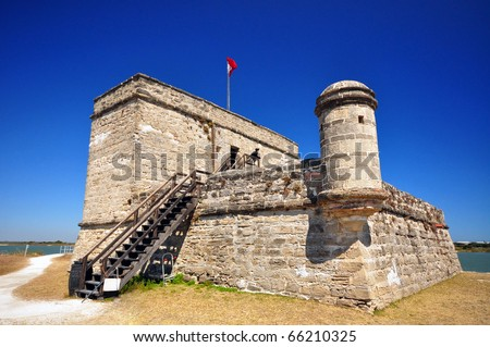 Fort Matanzas National Monument - stock photo
