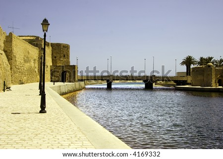 Fort of Bizerte, Tunisia - stock photo