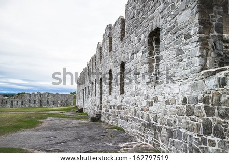 Fort Ruins - stock photo