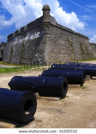 fort, San de Marco, St. Augustine, Florida, US - stock photo