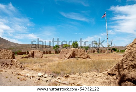Fort Selden adobe ruins