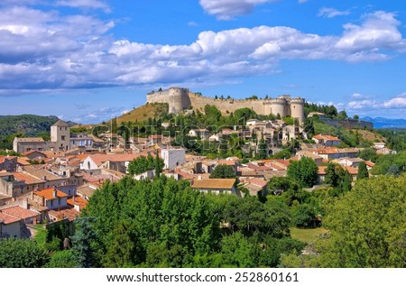 Fort St Andre  - stock photo