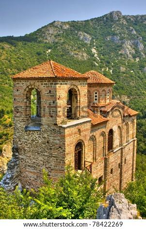 fortress of Assen, Bulgaria - stock photo