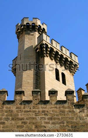 Fortress tower from Palma de Malorca