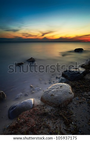 Fortuna Beach Sunset, Sweden.