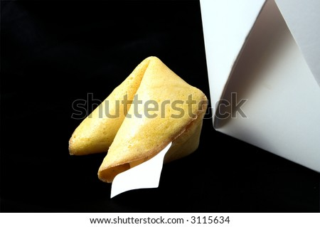 Fortune Cookie - stock photo