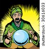 Fortune teller - stock photo