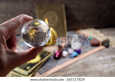 Fortune-telling  - stock photo