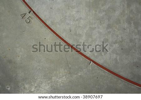 Fortyfive Horizontal - stock photo