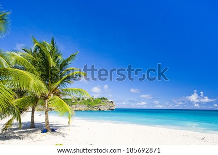 Foul Bay, Barbados, Caribbean - stock photo