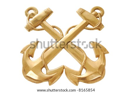 Fouled Anchors - stock photo