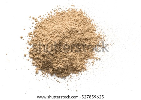 Foundation powder makeup on background