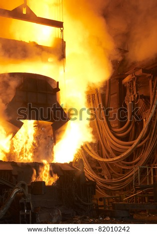 foundry - stock photo