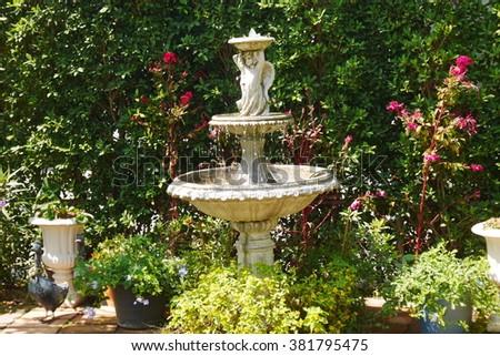 Fountain - stock photo