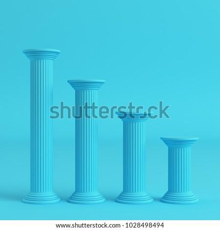 stock-photo-four-ancient-pillars-on-brig