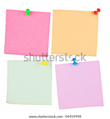 Blank Memo Notes Pictures Stock Illustration 31304710 - Shutterstock