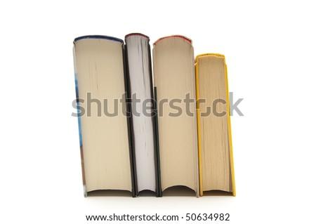 Four Books - stock photo