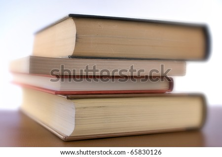 four books - focus selected